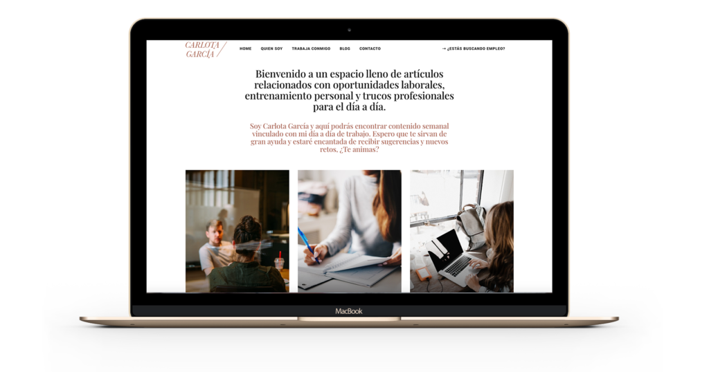 Carlota Garcia | Diseño Web Zaragoza - SomosMasvisual