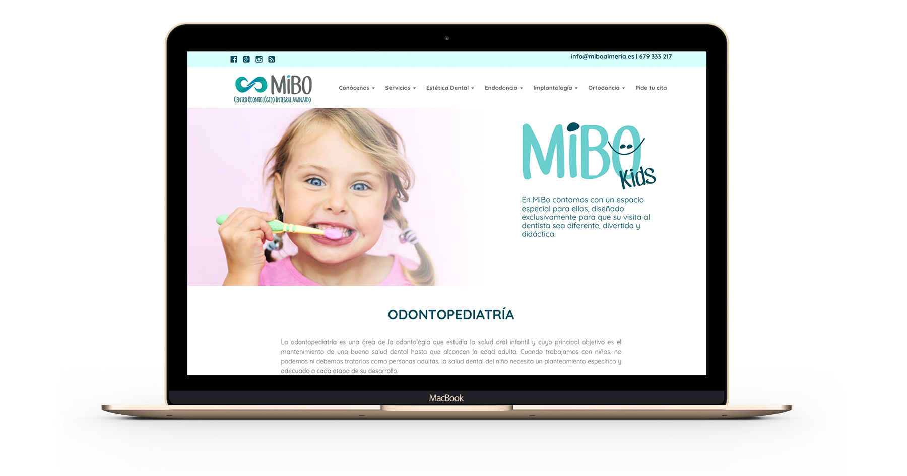 Diseño Web Clinica Dental