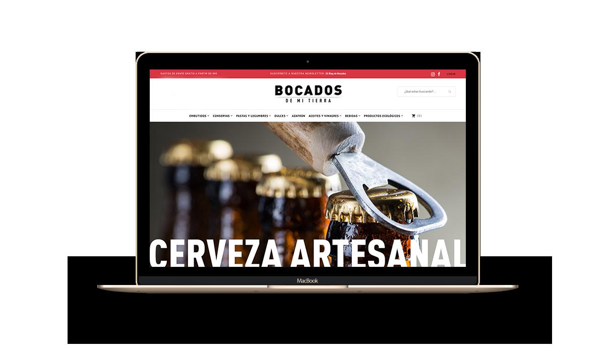 Diseño de tienda online Zaragoza